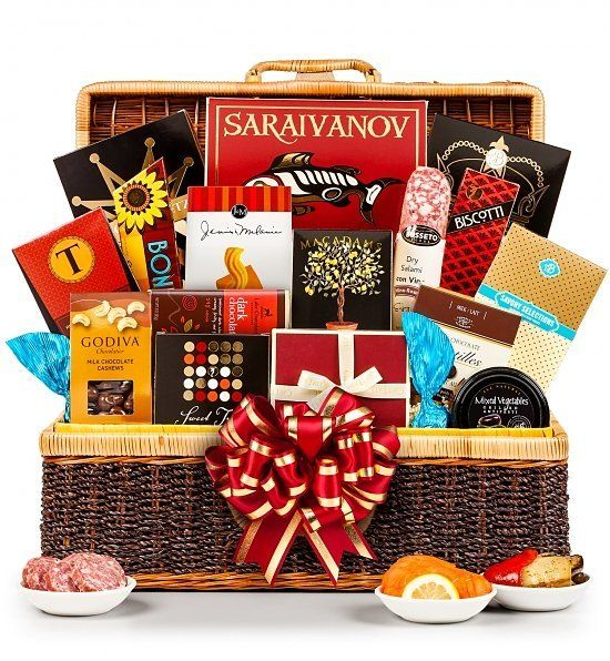40th Anniversary Gift Basket Anniversary Gift Baskets Luxury Gift Basket Gourmet Gifts