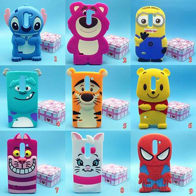 cda7e0f991 Cute Disney Cartoon Soft Silicone Case Cover For LG G3 Stylus / D690N / D690