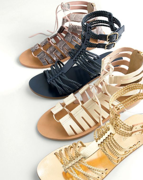 61318bc93bc7 J.Crew women s aztec snakeskin lace-up gladiator sandals