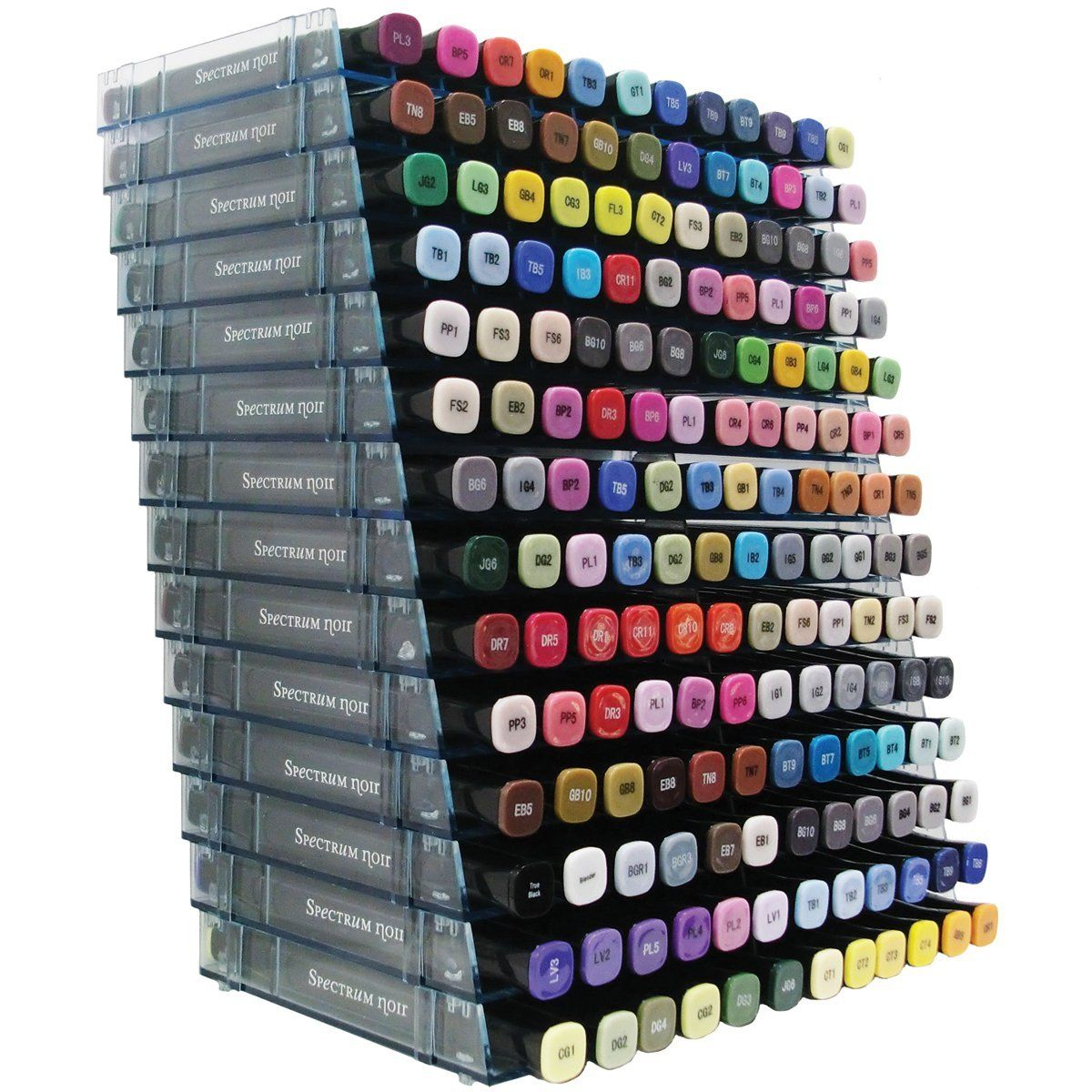 Crafters Companion Spectrum Noir Marker Storage Trays Black