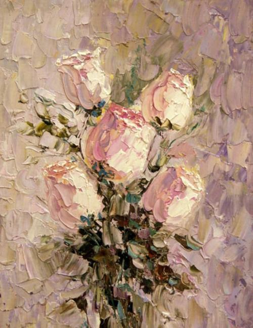 Painted pretty floral art pinterest paintings flowers and painted pretty mightylinksfo