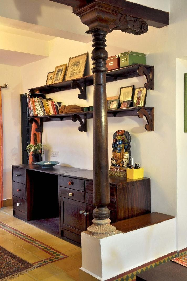 traditional south indian house. #woodcraft #woodproject # ...