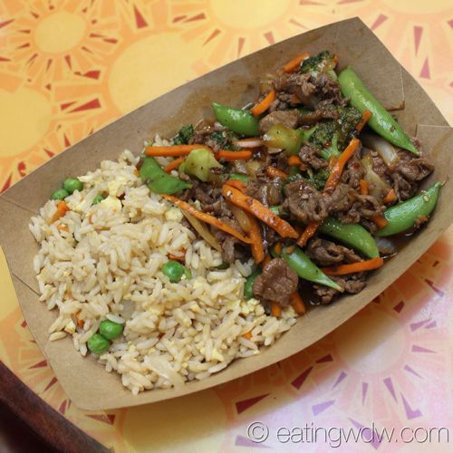 Sunshine Seasons Mongolian Beef With Vegetable Fried Rice With