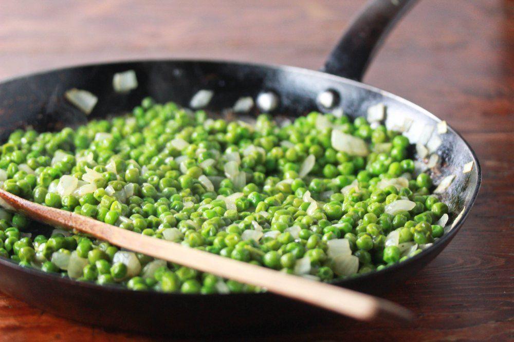 Savory Sauteed Sweet Peas