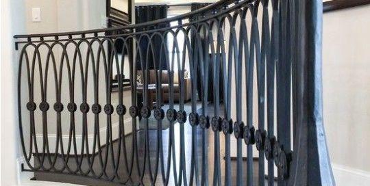Best Like This Railing Custom Iron Staircase Railing 400 x 300