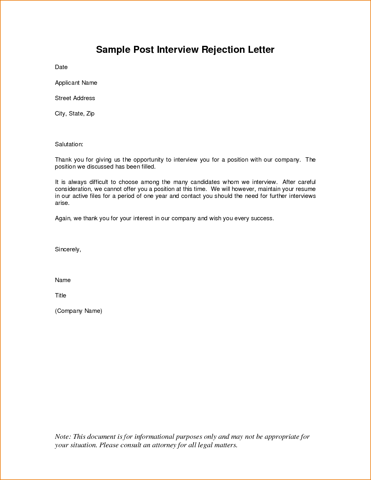 Letter Incident Report Template Memo Rejection Interview Questions