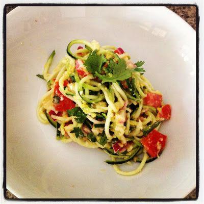 Raw creamy zucchini pasta jessica sepel vegan vegetarian raw creamy zucchini pasta jessica sepel green capsicumlunch recipesveggie recipesdinner forumfinder Gallery