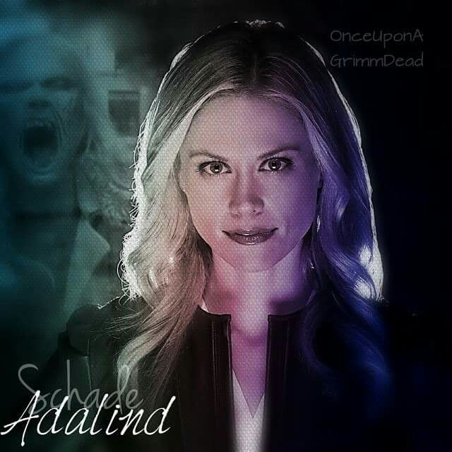 Adalind- she is so bad.......she would sell out her baby- oh wait she did!!
