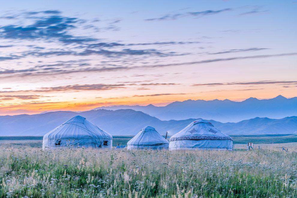 Картинки юрты казахстана