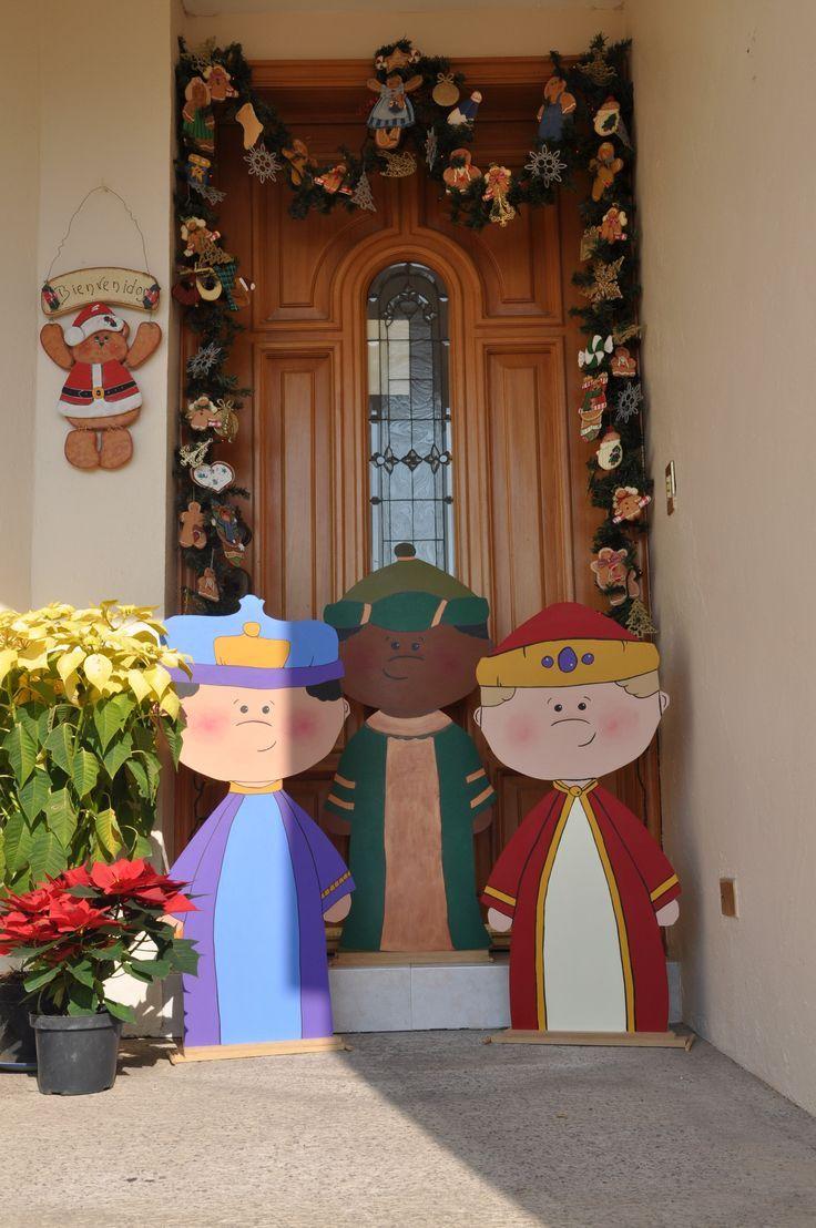Ideas para decorar la casa la noche de los reyes magos for Ideas para decorar puertas navidenas