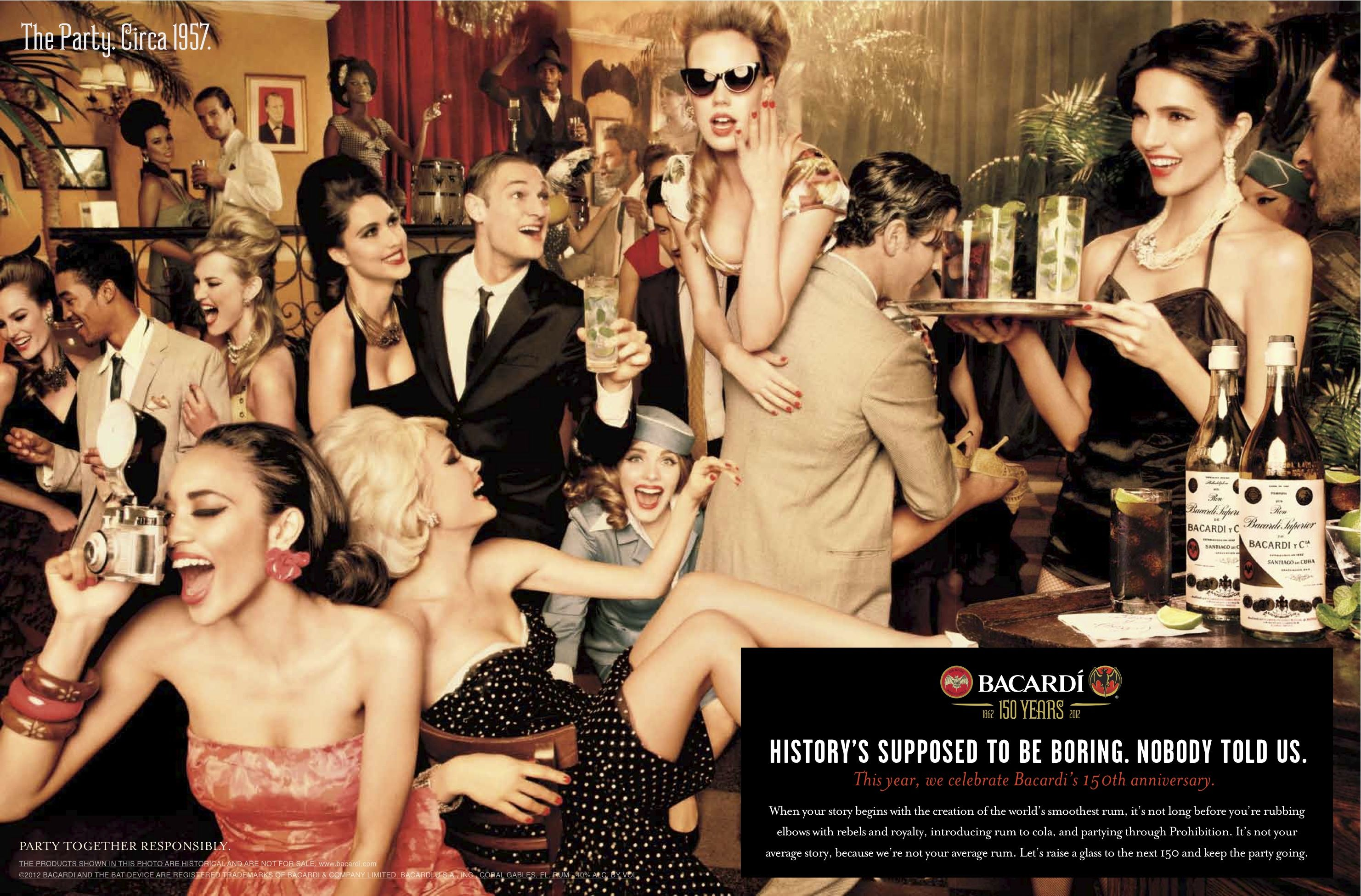 BACARDI 150th ad -gorgeous!