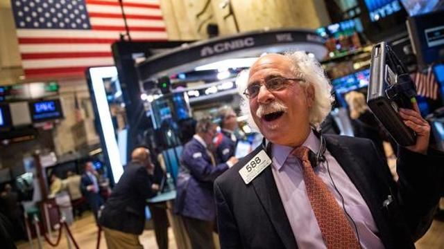 Stocks higher in rebound from prior day's drop