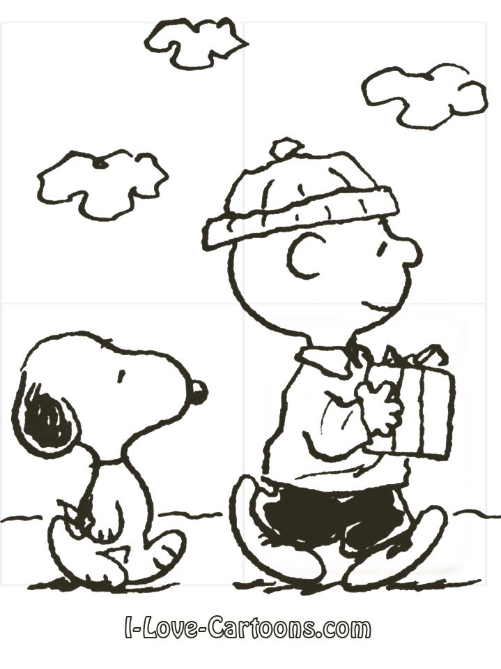 Snoopy | Plastica Colorear | Pinterest | Charlie brown christmas ...