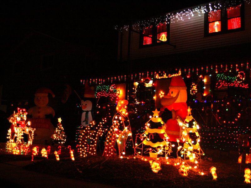 Candy Cane Lane Christmas Decorations Images Of Candy Cane Lane West Allis Wi  Onmilwaukee Holiday