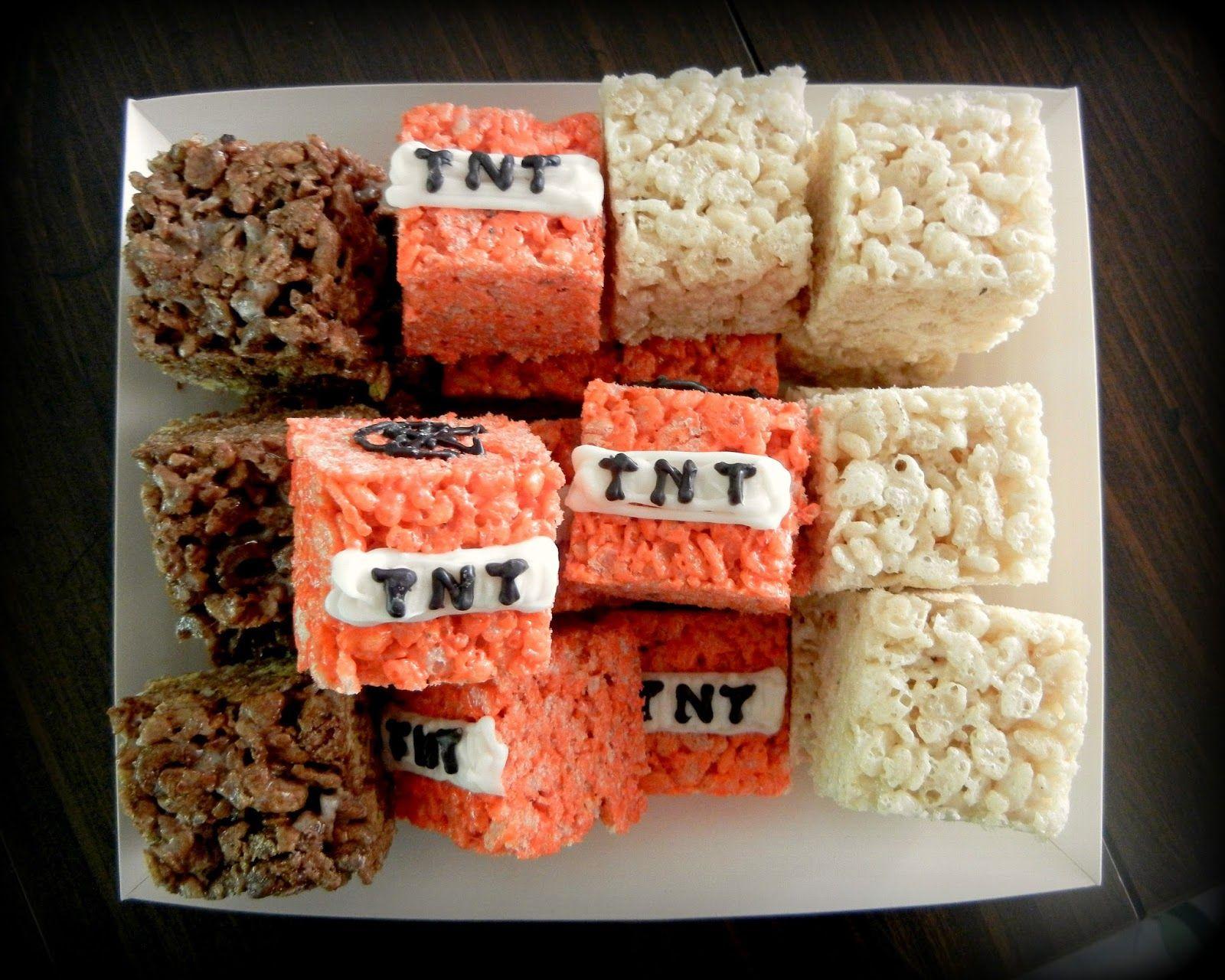 Minecraft rice crispy cake minecraft cake and treats would love minecraft rice crispy cake minecraft cake and treats would love to make the tnts forumfinder Choice Image