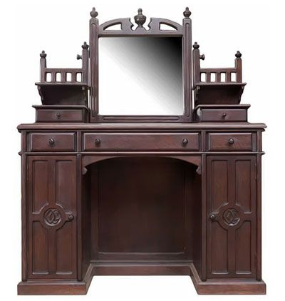 Superior Medieval Gothic Mirrors Pine On | Gothic   Period Oak Furniture    Periodfurniture Carved. Dressing Table ...