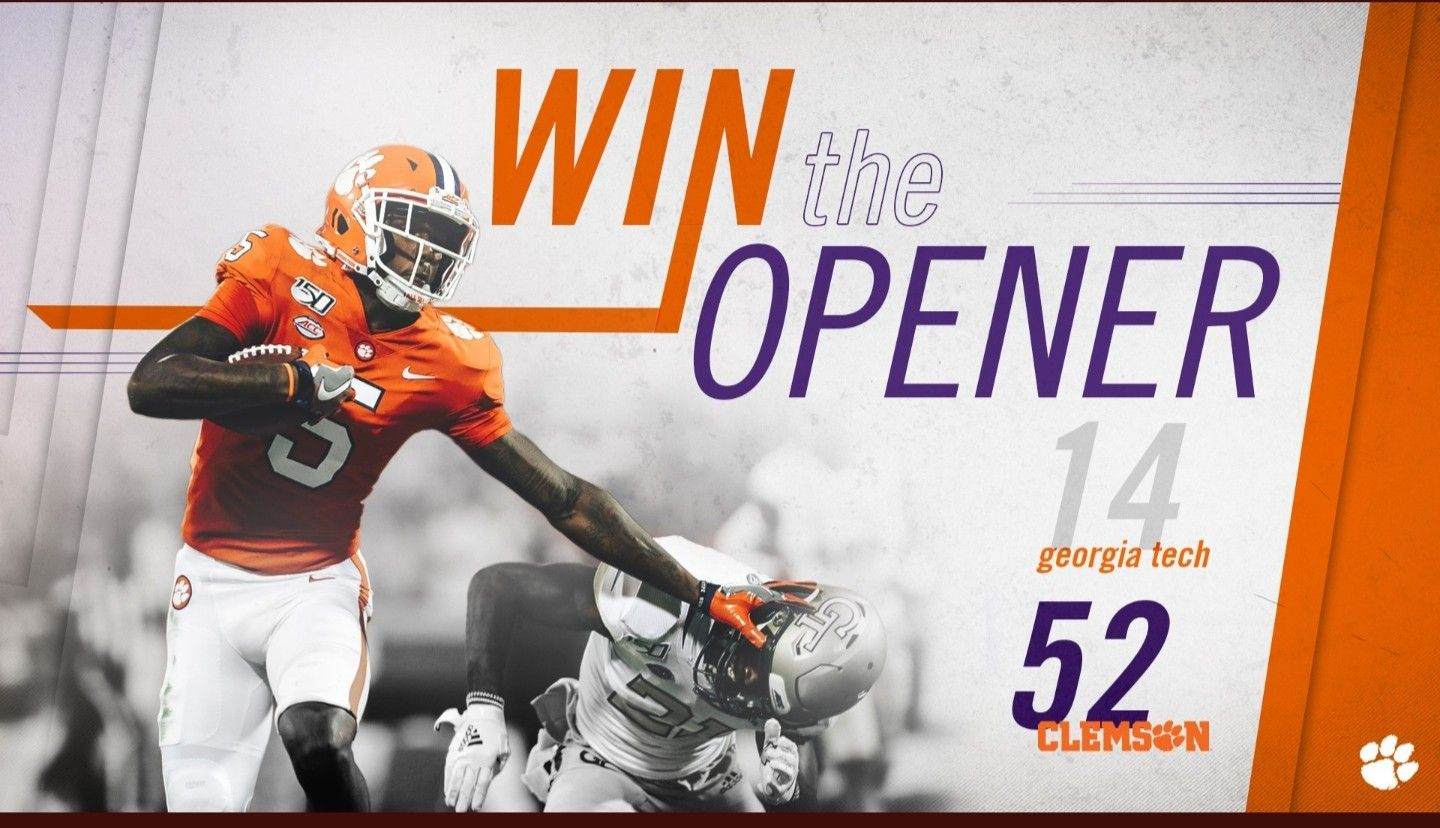 Clemson vs GA tech Clemson, Clemson tigers football