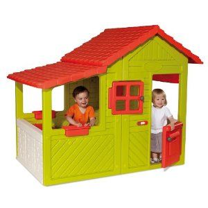 Smoby 310247 Floralie Haus Amazon De Spielzeug Eur 279 99 Kinder Indoor Spielhaus Kinderspielhaus Spielhaus Im Freien