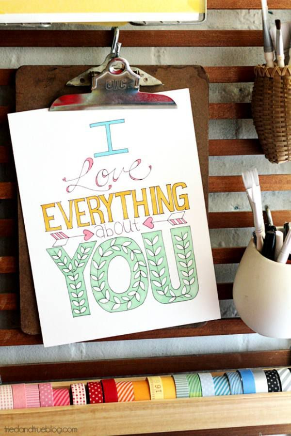 """""""I love everything about you"""""""