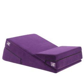 Liberator 24-Inch Wedge/Ramp Combo, Purple Microfiber