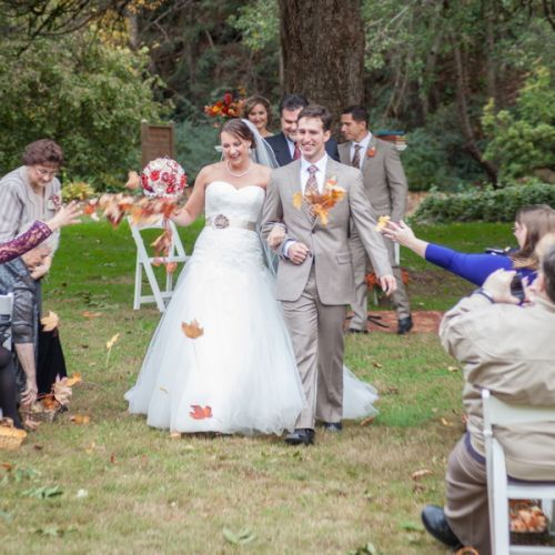Outdoor Wedding Ceremony Calgary: As Another Non-traditional Element, The Guests At The