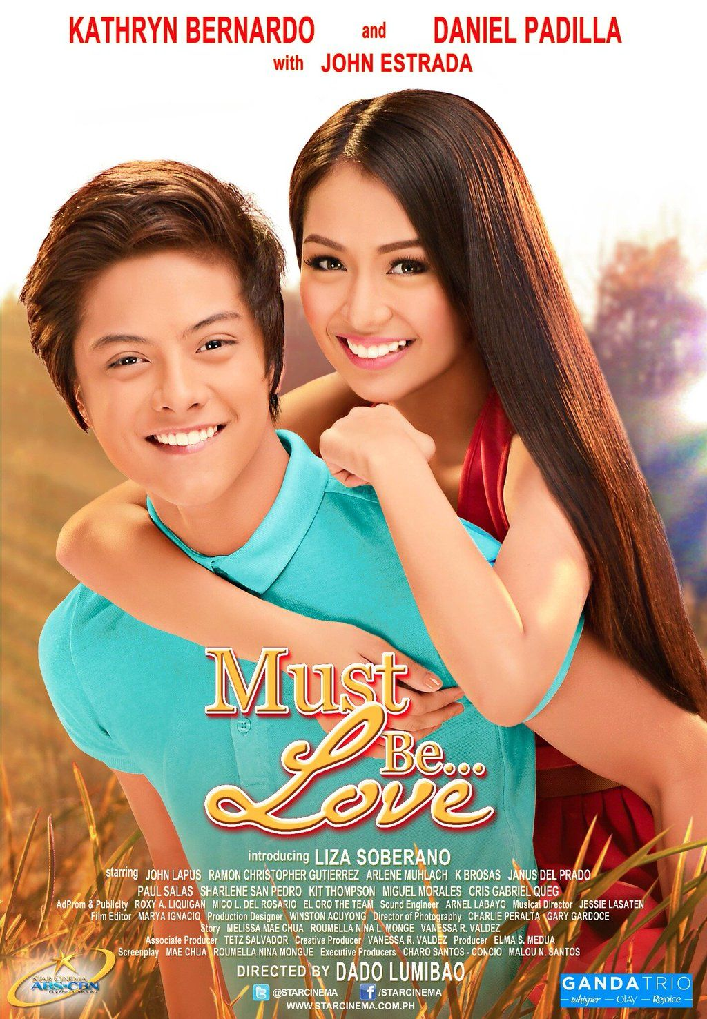 Must Be Love 2013 Starring Daniel Padilla Kathryn Bernardo Pinoy Movies Love Movie Daniel Padilla