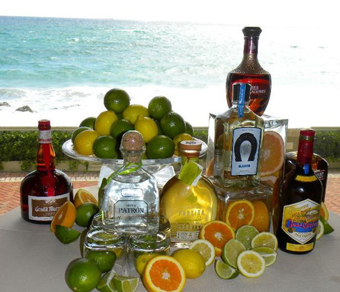 The breakers tequila bar catering and party plans for Party drinks with tequila