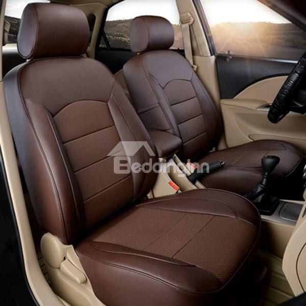 Attractive Leatherette Material And Super Luxurious Custom Fit Five Car  Seat Cover