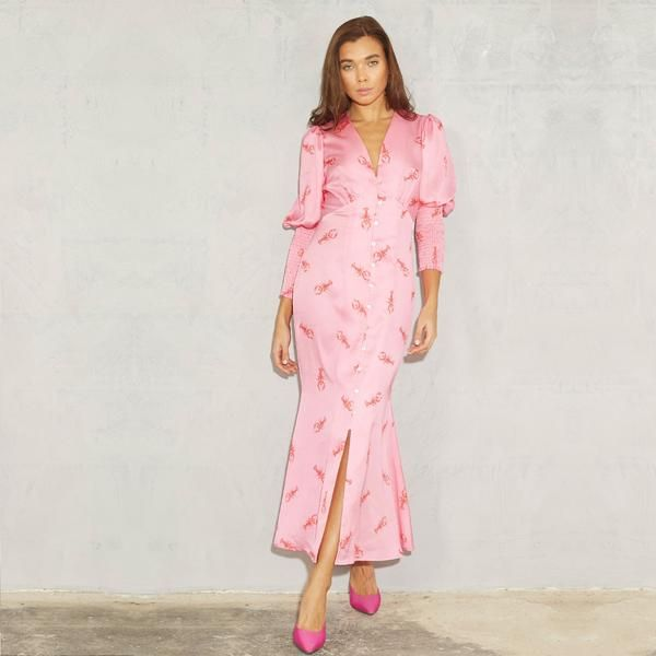 Pink Lobster Lindos Maxi Dress In 2020 Dresses Maxi Dress Perfect Dress