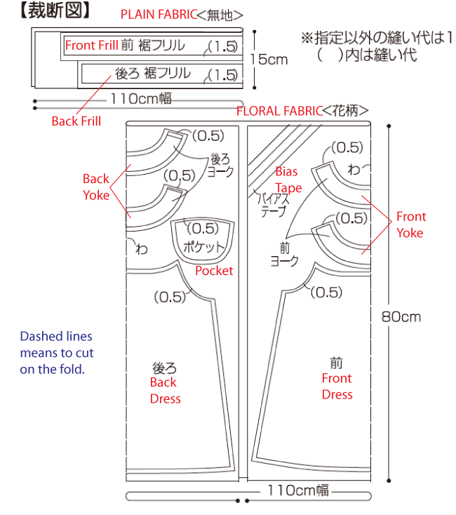 Free Japanese Pattern (With English Instructions!) | important to ...