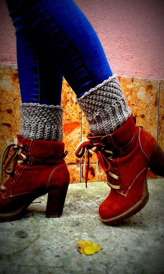 Boot Cuff Crochet Pattern Crochet Pattern by AlynaCrochetPatterns