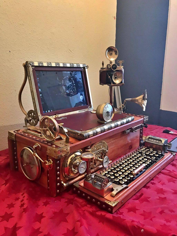 Steampunk Furniture Decor Ideas Designs Accessories And Art