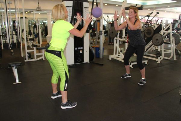 Monday Moves Squat Toss News 12 Long Island Squats Keep Fit Exercise
