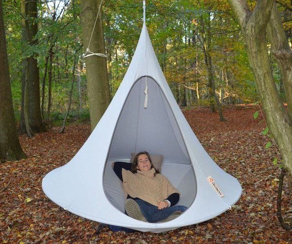 This magnificent cocoon styled hammock is inspired by the beautifully  stitched together hanging cocoon nests of the weaver bird the Cacoon  hammock is a ...