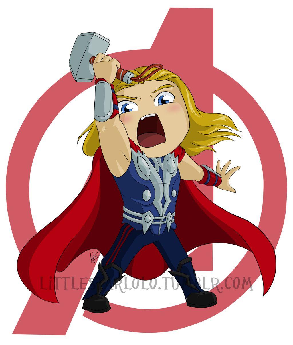 chibi thor   chibi avengers   Pinterest   Chibi, Thor and ...