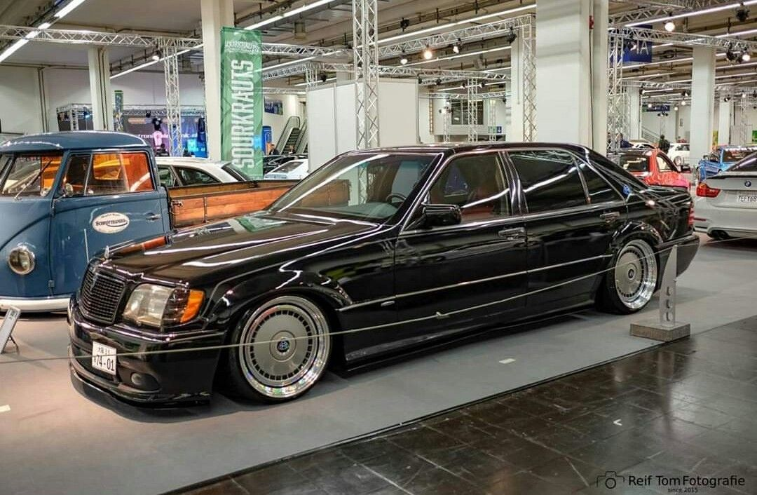 Mercedes Benz S Class W140 With Images Custom Mercedes Benz