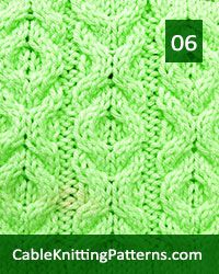 Cable Knitting 06 Free Pattern Skill Level Intermediate Knitter