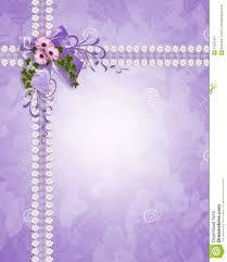 Image Result For Blank Purple Invitation Card Design Art Crafts