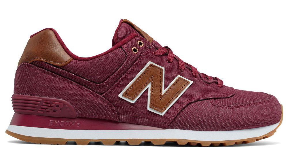 new balance 574 sport rouge