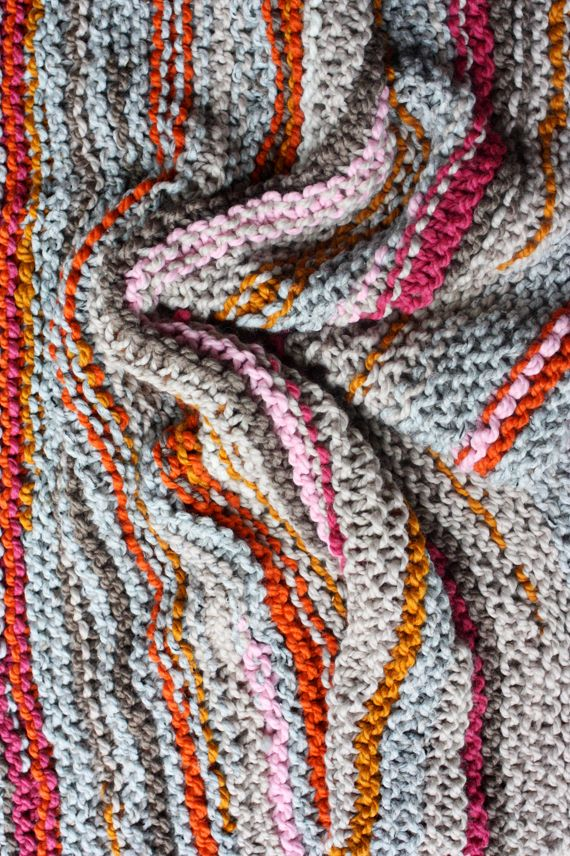 the 30th knit blanket   Pinterest   Scrap, Yarns and Blanket