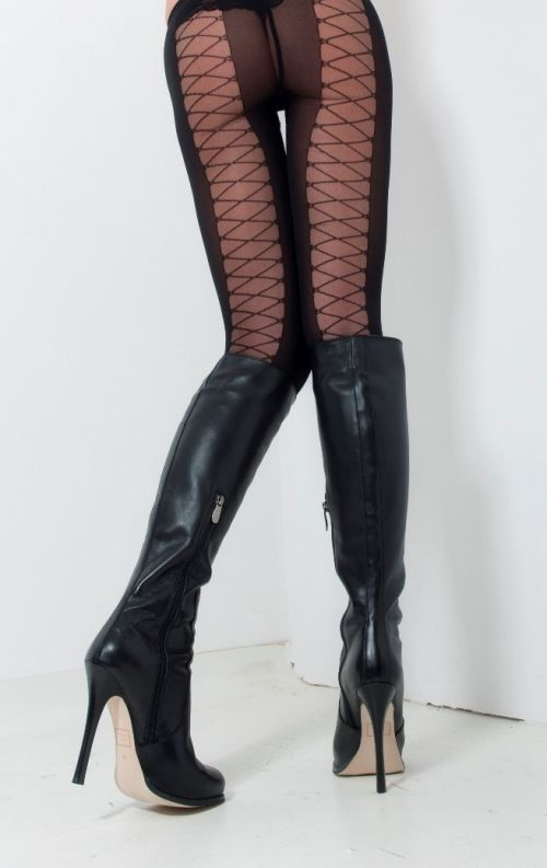 93c9d3b715158 AROLLO Knee High Boots Queen - Arollo Overknee Stiefel Online Shop ...