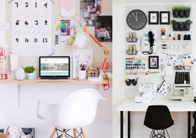 20 inspirations pour un petit bureau
