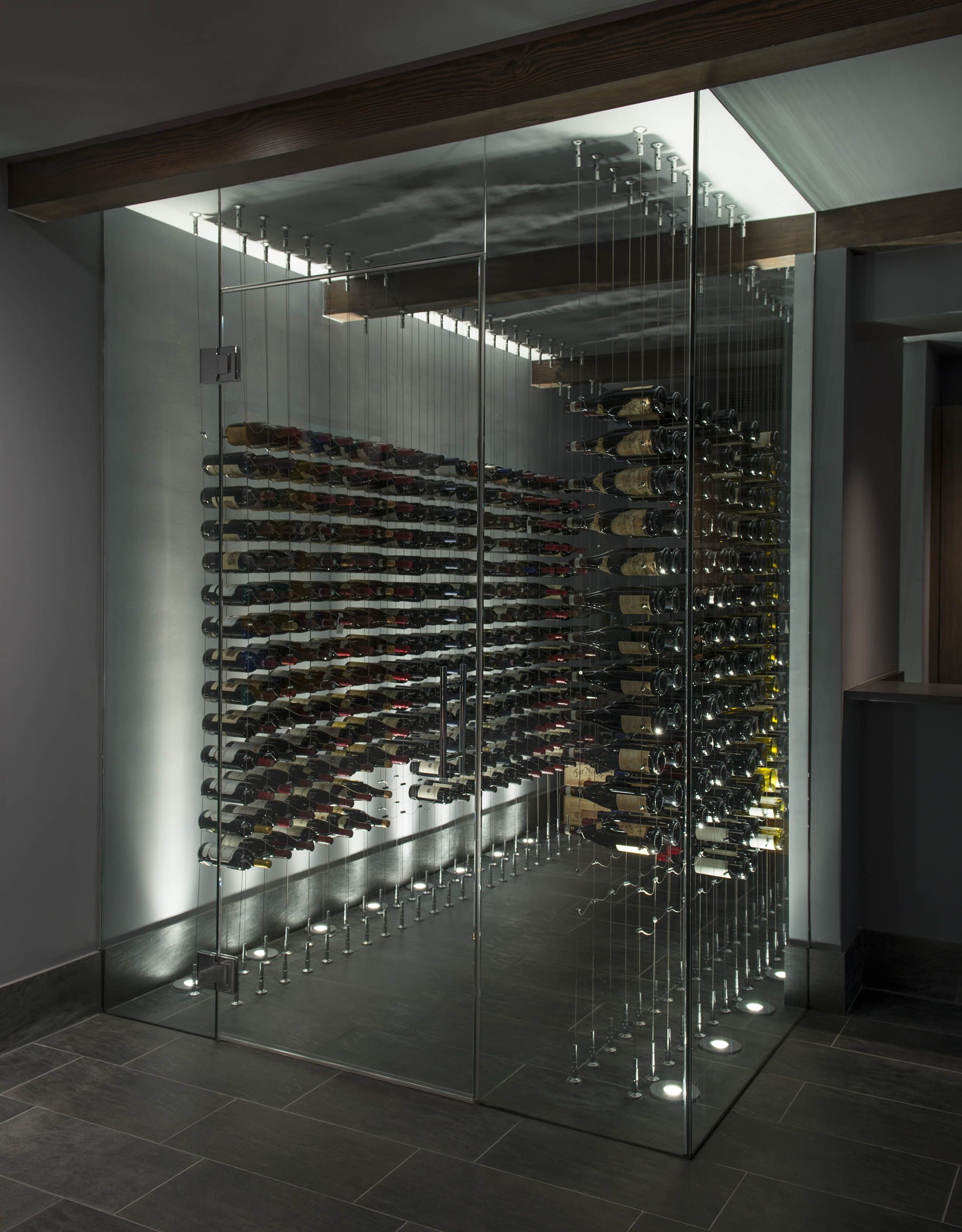 Modern Wine Cellar By Papro Consulting - - Pinterest -