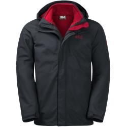 Photo of Jack Wolfskin 3-in-1 Hardshell Männer Pouring Rain 3in1 Men Xxl phantom Jack WolfskinJack Wolfskin