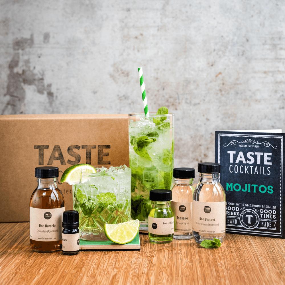 The Mojitos Kit Taste Cocktails Mojito Cocktail Cocktail Kits Summer Cocktail Kit