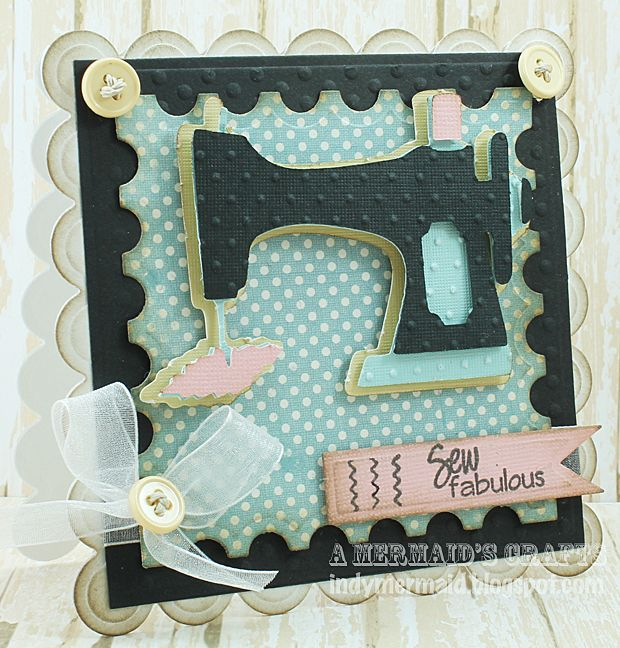 a mermaids crafts  cricut cards cards handmade sewing cards