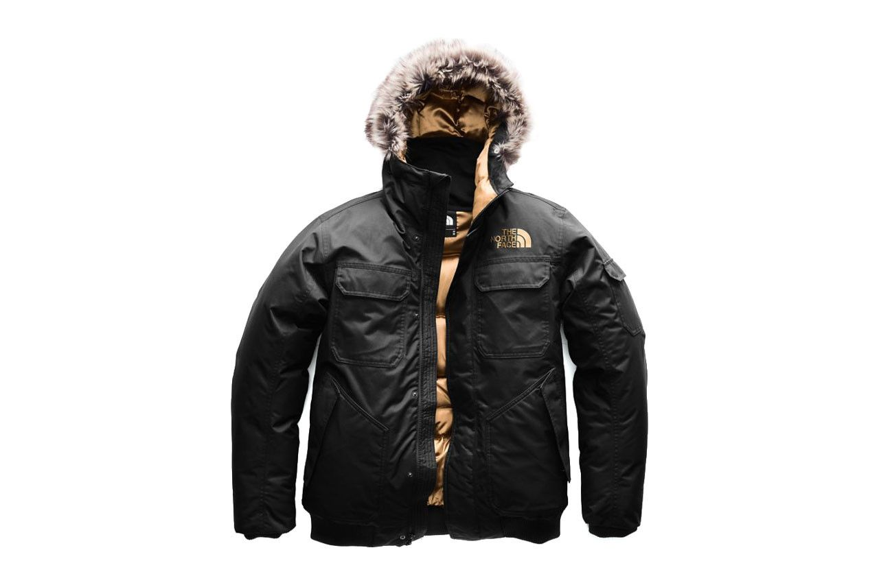 The North Face Goes Glam With Copper Colored Capsule North Face Jacket Mens North Face Mens Winter Military Jacket