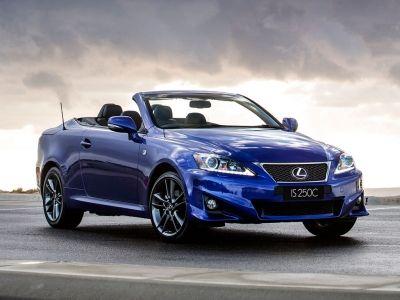 Lexus Is Cabrio Vehicles Convertible Cars