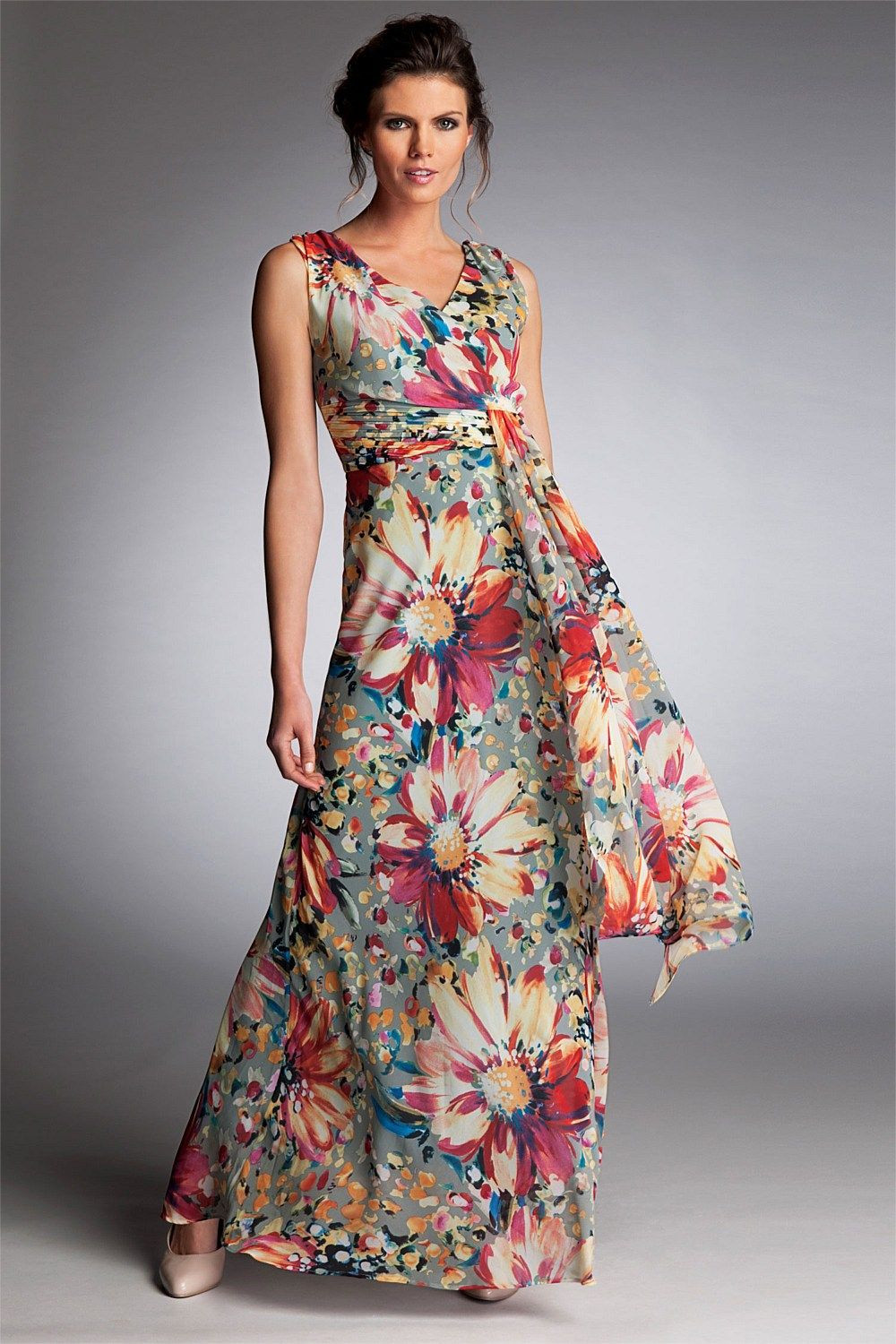 Day Sun Dress Dresses Grace Hill Bloom Print EziBuy