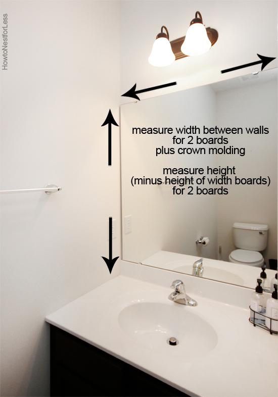 Photo of Wie man einen Badezimmerspiegel einrahmt – Wie man für weniger ™ nistet